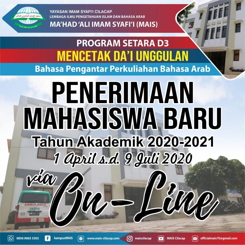 PMB via Online 2020/2021
