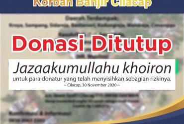 Laporan Penyaluran Donasi MAIS Peduli Banjir Cilacap