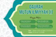 Daurah Mutun Ilmiyyah I (Secara Virtual)