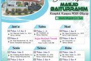 Jadwal Kajian Rutin Bada Magrib dan Kajian Muslimah 2018