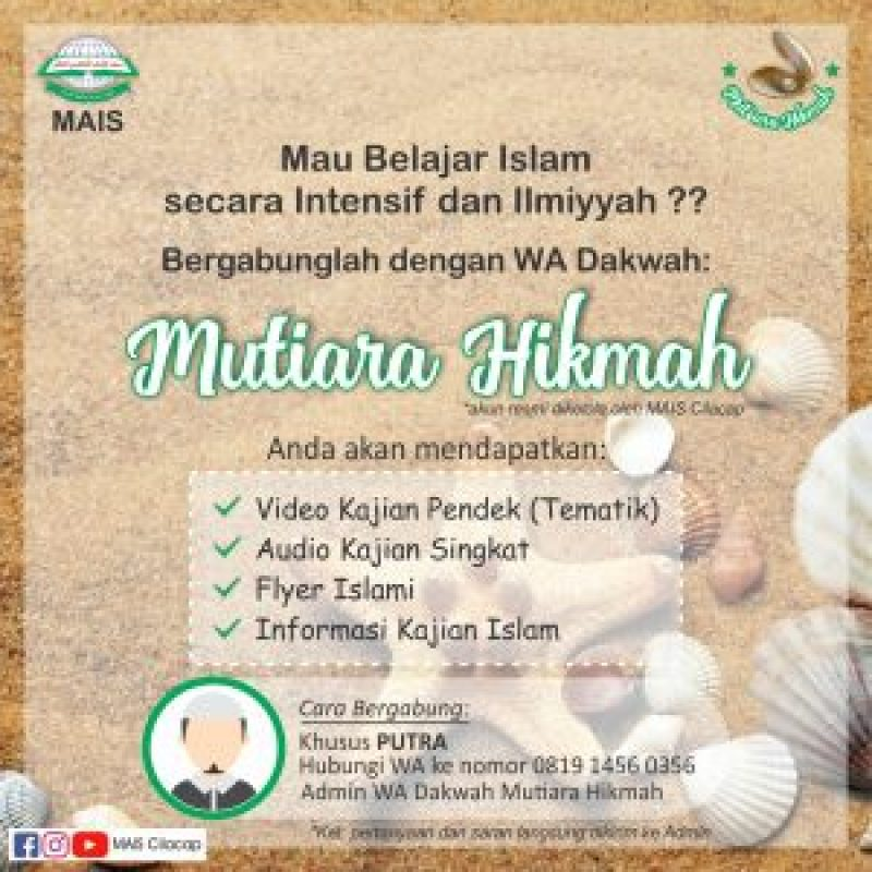 Grup WA Dakwah Mutiara Hikmah (Putra)