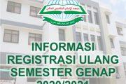 Info Registrasi Ulang Semester Genap 2020/2021